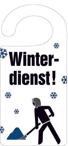 Türanhänger »Winterdienst«