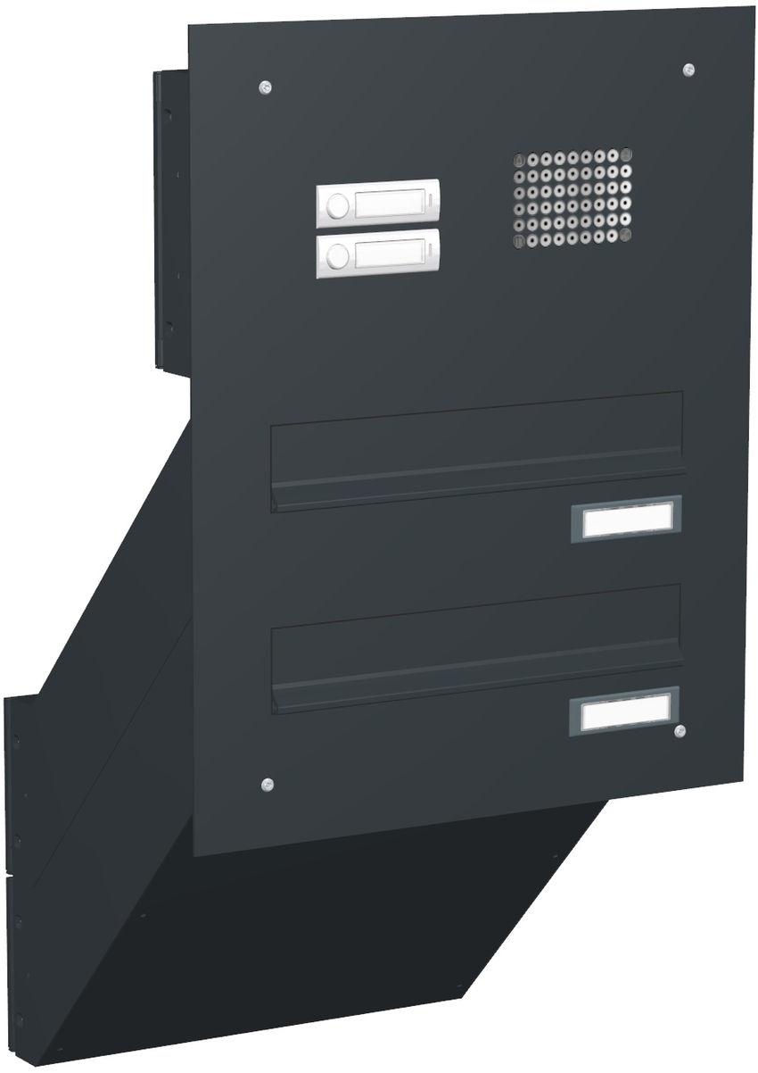 2 Max Knobloch Briefkasten Mauerdurchwurf Farbauswahl Funktion Audio