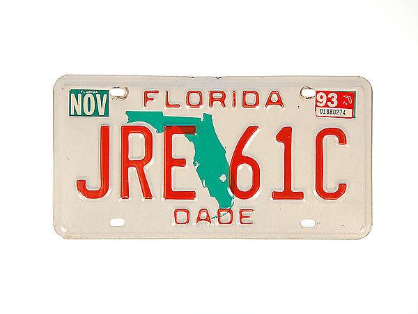 Kennzeichen USA Florida Plates Shop