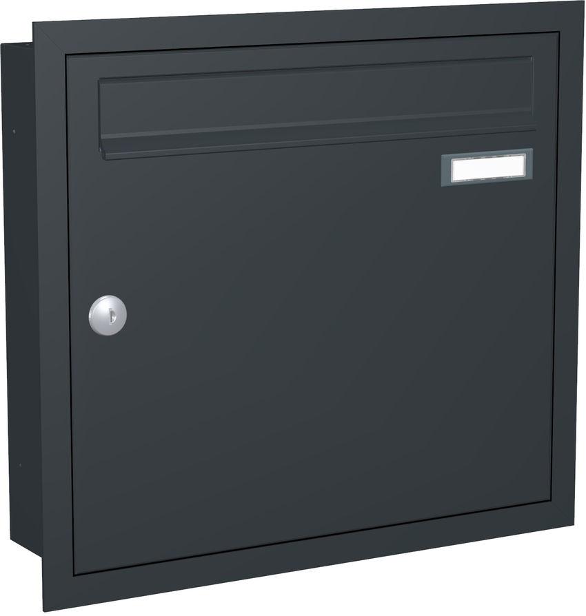 1 Max Knobloch Briefkasten Unterputz Farbauswahl
