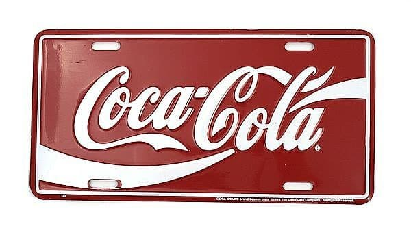 Boosterplate COCA COLA (Schrift)