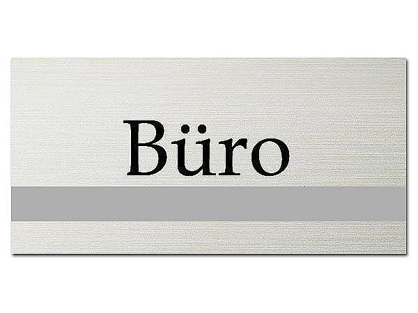 Türschild - Büro - ClassicLine - Größe: 200 x 100 mm