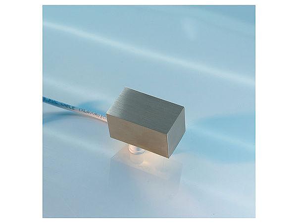 3D Edelstahl - Hausnummer hinterleuchtet mit weißen LEDs - Bindestrich