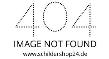 Jahreslosung 2014 auf einem Blechschild A4 bei SchilderShop