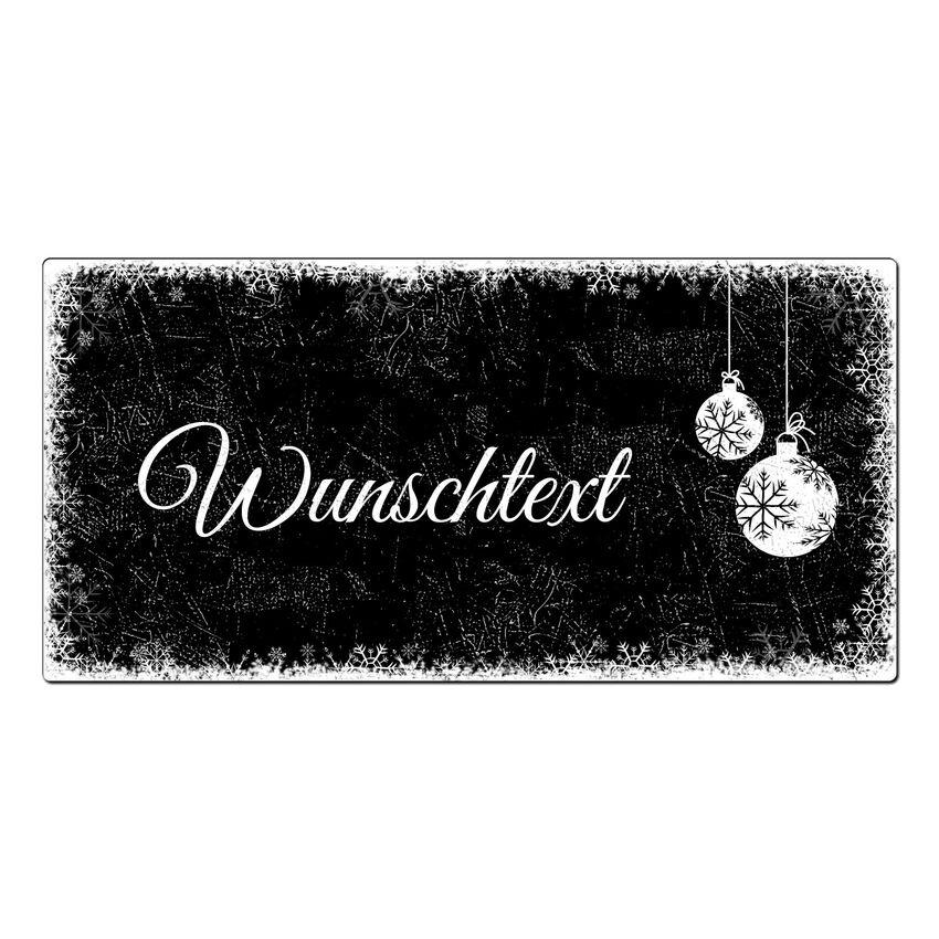 Weihnachtsdeko Schneeflöckchen - Schild zum Selbstgestalten 200  bei SchilderShop