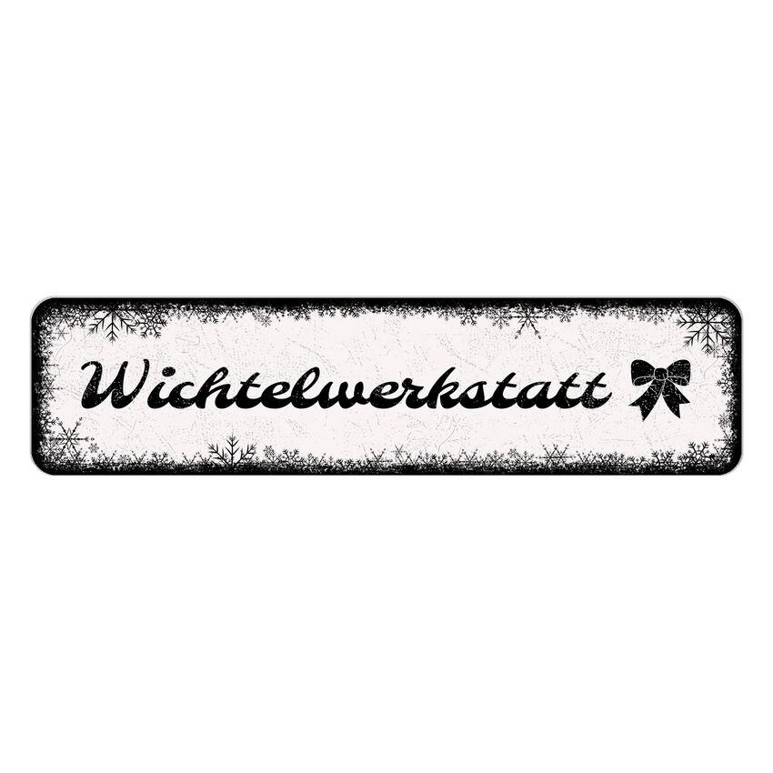 Winterdeko Schneeflöckchen mit eigenem Wunschtext und Symbol 150 bei SchilderShop