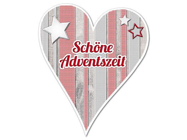 Dekoherz Hüttentraum Schöne Adventszeit oder mit Wunschtext - 1 bei SchilderShop