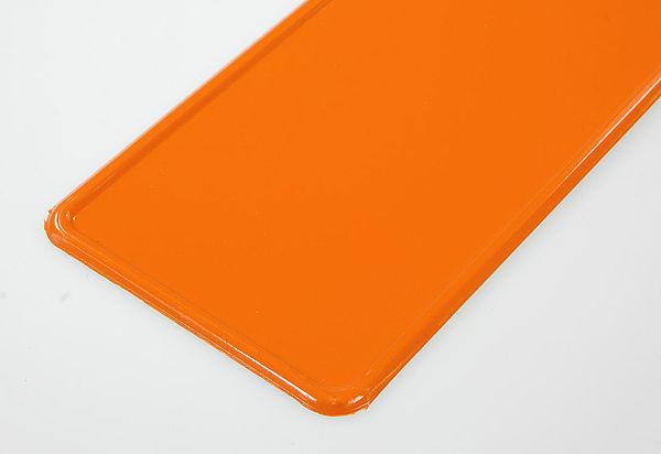 Personalizzata targa nome con nome a scelta und symbol arancione