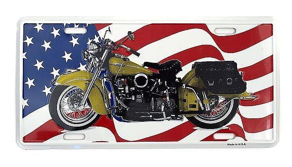 Boosterplate Motorrad