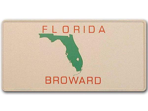 Florida Brustkrebs Nummernschilder