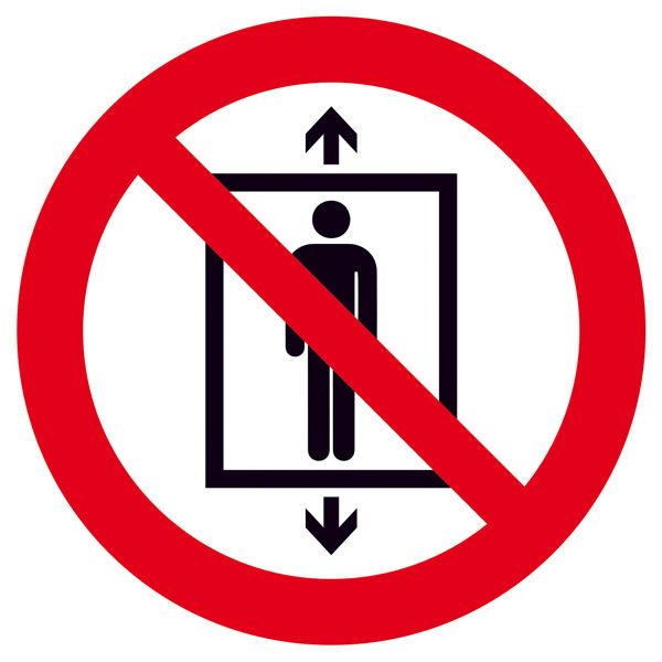 Verbotsschild »Personenbeförderung verboten«