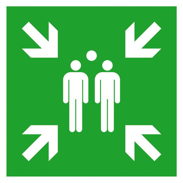 Fluchtwegschild »Sammelstelle«