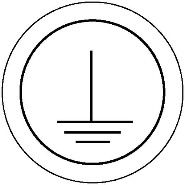 Etiketten - Kennzeichnung elektrische Betriebsmittel »Schutzleiter«