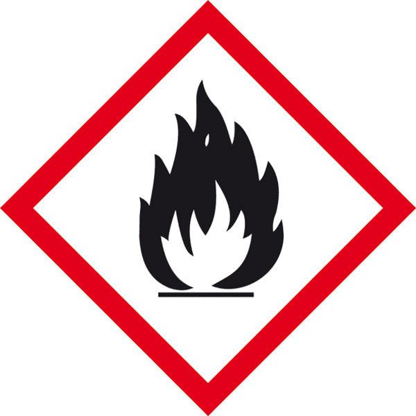 GHS-Gefahrenpiktogramm »Symbol 02: Flamme«