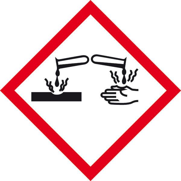 GHS-Gefahrenpiktogramm »Symbol 05: Ätzwirkung«