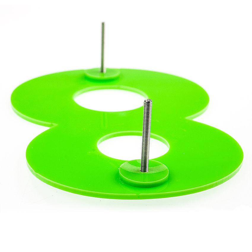 hausnummern aus acryl in vielen farben h he 200 mm. Black Bedroom Furniture Sets. Home Design Ideas