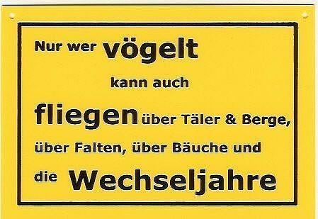 schild als postkarte mit spruch nur wer v gelt kann schilder online kaufen