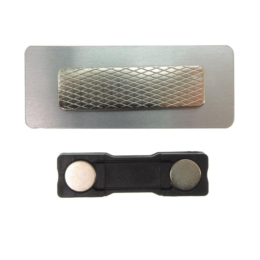 namensschild zum anstecken mit magnet selbst gestalten 65 x 25 mm hausnummern und schilder. Black Bedroom Furniture Sets. Home Design Ideas