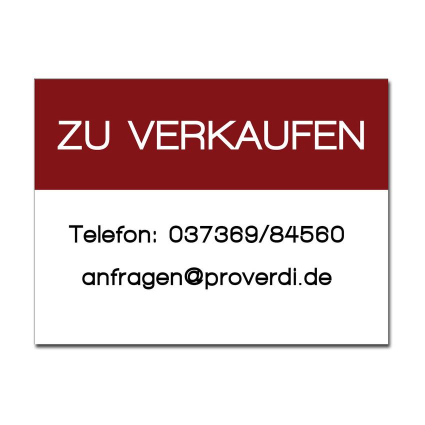 dibondschild zu verkaufen gr e 420 x 300 mm hausnummern und schilder online kaufen. Black Bedroom Furniture Sets. Home Design Ideas