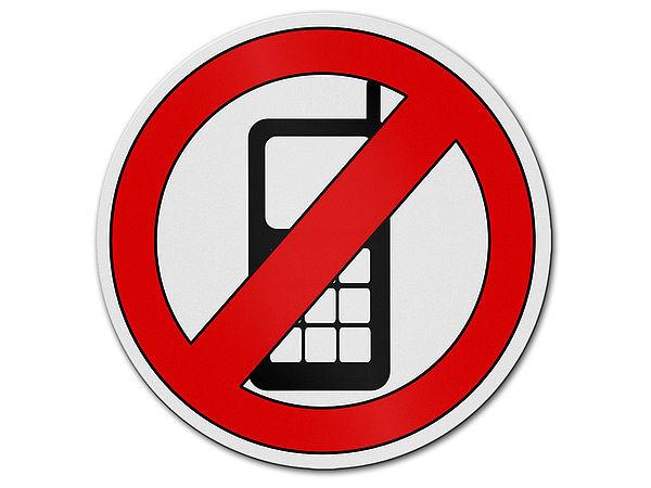 Handyverbot verbotszeichen aus aluminium hausnummern for Gartendeko schilder