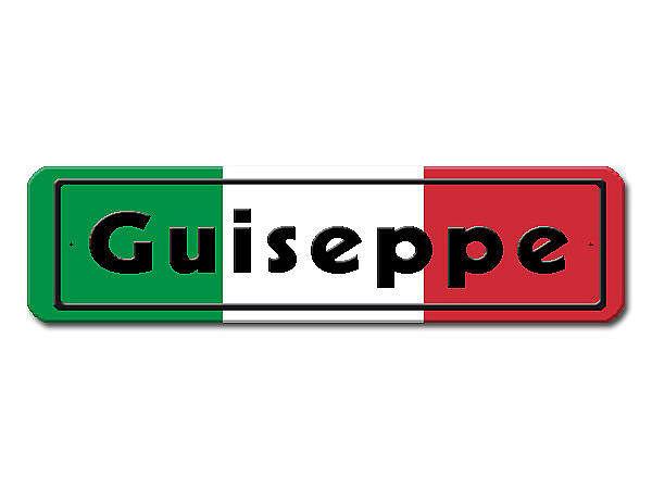italienische flagge hausnummern und schilder online kaufen. Black Bedroom Furniture Sets. Home Design Ideas
