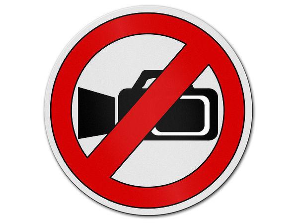 Verbotszeichen aus aluminium filmen verboten for Gartendeko schilder