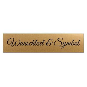 Goldene Hochzeit Blechschild in Herzform Schild Türschild Jubiläum 50 gold