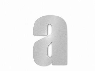 Moderne Hausnummern Edelstahl moderne edelstahl hausnummer ziffer 3 in schrift impact