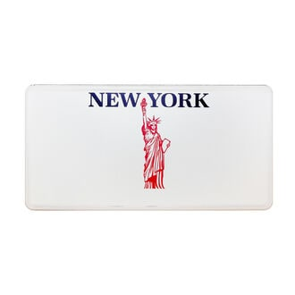 New York - Plate - Liberty - mit individuellem …