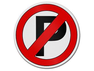 parkverbot verbotszeichen aus aluminium hausnummern und schilder online kaufen. Black Bedroom Furniture Sets. Home Design Ideas