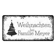 Dekoschild hirsch zum selbstgestalten 200 x 100 mm wei - Weihnachtsbaumkugeln selbst gestalten ...