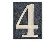 granit hausnummern hausnummern und schilder online kaufen. Black Bedroom Furniture Sets. Home Design Ideas