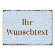 Vintageschild mit Text